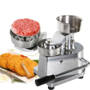 Industrial Hamburger Patty Maker Burger Making Machine Restaurant for Sale