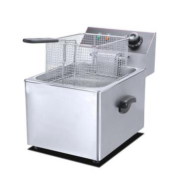Stainless Steel Continuous Type Potato Chips Deep Fryer