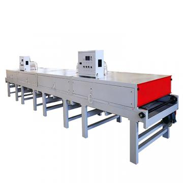Conveyor System Chain Belt Pre-Heating Uniform Tunnel Dryer Screen Printing