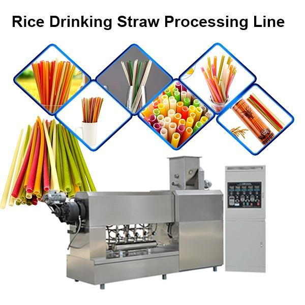 Degradable Straw Complete Machine / Processing Line / Machinery #1 image