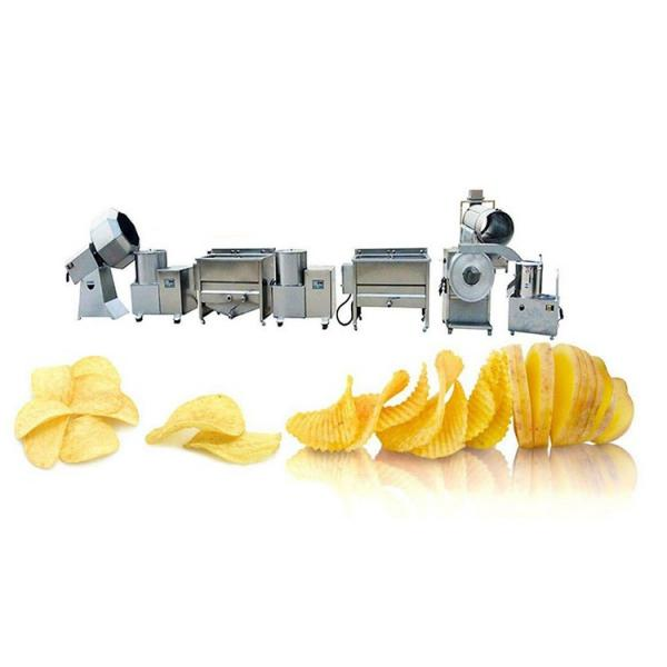100kg/H Small Potato Chips Making Machine / Production Line Price #3 image