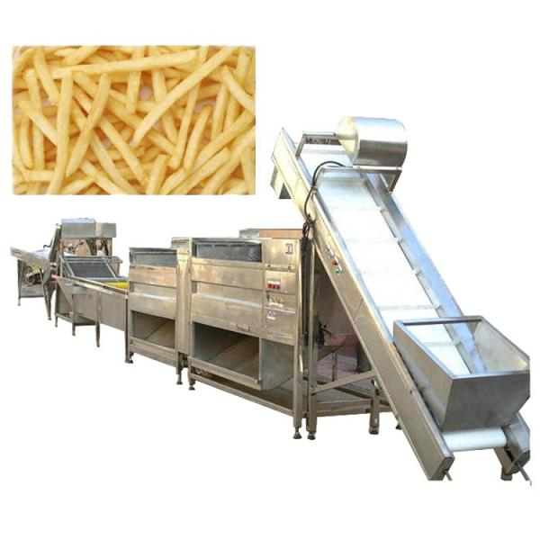 100kg/H Small Potato Chips Making Machine / Production Line Price #2 image