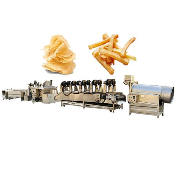 50kg/H Small Capacity Potato Chips French Fries Making Machine Line #3 image